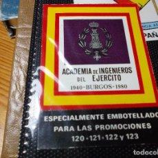 Etiquetas antiguas: ETIQUETA DE VINO EMBOTELLADO ESPECIALMENTE PARA ACADEMIA ING.DEL EJERCITO.. Lote 107179899