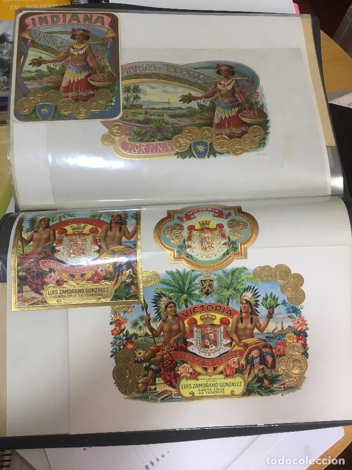 Etiquetas antiguas: COLECCION DE 89 HABILITACIONES O ETIQUETAS PARA CAJAS DE PUROS TROQUELADAS EN SU MAYORÍA. MUY RARAS! - Foto 21 - 107491375