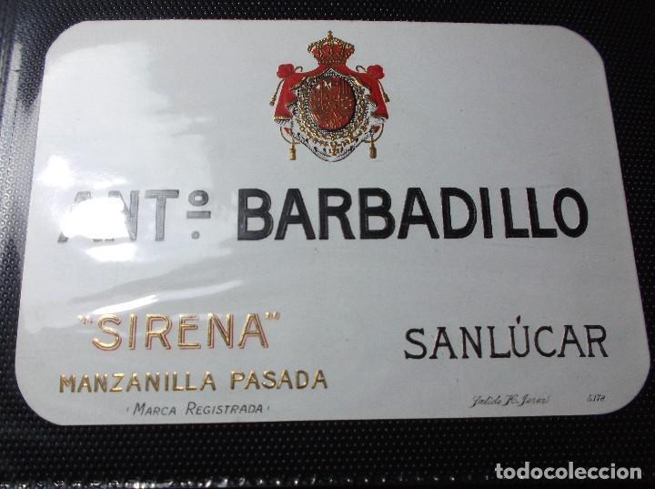 etiqueta de una bodega de sanlucar bda. - Comprar Etiquetas antiguas ...