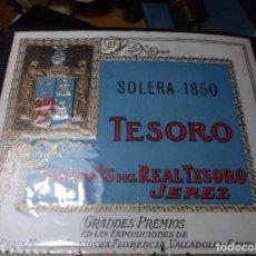 Etiquetas antiguas: ETIQUETA DE UNA BODEGA DE JEREZ.. Lote 107543179