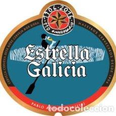 Etiquetas antiguas: ETIQUETA ESTRELLA GALICIA, 110 ANIVERSARIO - 25 CL - ETIQUETA Nº 36 - QUINTO. Lote 236453725