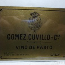 Etiquetas antiguas: ETIQUETA DE UNA BODEGA... ANTIGUA.. Lote 113377267