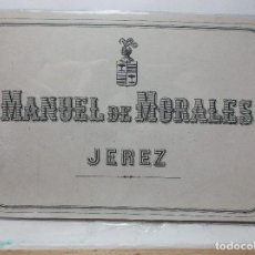 Etiquetas antiguas: ETIQUETA DE UNA BODEGA DE JEREZ FRA... ANTIGUA. Lote 113382063