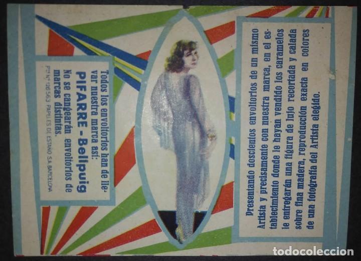 Etiquetas antiguas: Preciosa colección de etiquetas 9 envoltorios de caramelos en excelente estado de conservación - Foto 3 - 113963903