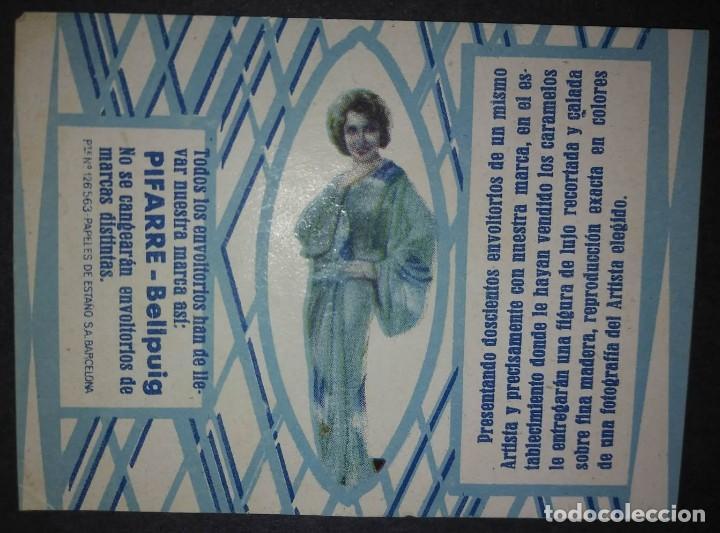 Etiquetas antiguas: Preciosa colección de etiquetas 9 envoltorios de caramelos en excelente estado de conservación - Foto 4 - 113963903