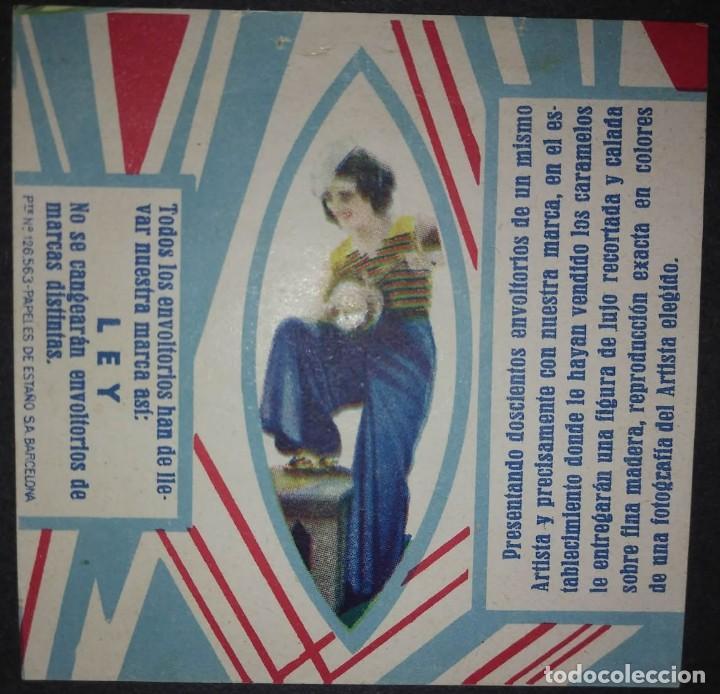 Etiquetas antiguas: Preciosa colección de etiquetas 9 envoltorios de caramelos en excelente estado de conservación - Foto 8 - 113963903