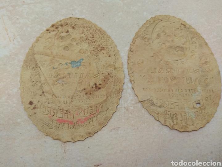 Etiquetas antiguas: Etiqueta Naranjada y Limón Natural Valencia - Talens y Ferrer Carcagente - Carcaixent - Foto 2 - 114092547