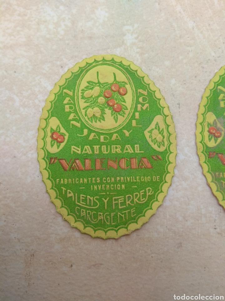 Etiquetas antiguas: Etiqueta Naranjada y Limón Natural Valencia - Talens y Ferrer Carcagente - Carcaixent - Foto 4 - 114092547