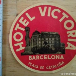 Hotel Victoria Barcelona Plaza de Catalunya