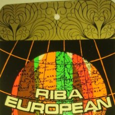 Etiquetas antiguas: ETIQUETA TÉXTIL RIBA EUROPEAN. Lote 115312523