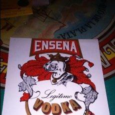 Etiquetas antiguas: ETIQUETA VODKA . Lote 115618771