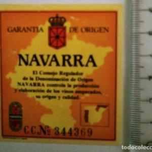 ETIQUETA GARANTÍA DE ORIGEN NAVARRA