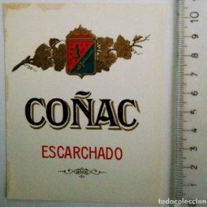 ETIQUETA COÑAC ESCARCHADO
