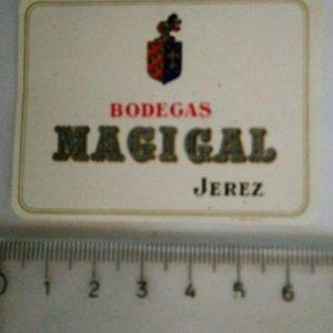 ETIQUETA BODEGAS MAGICAL JEREZ