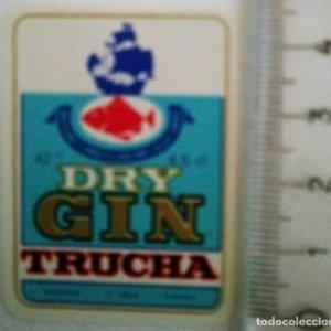 ETIQUETA GIN TRUCHA