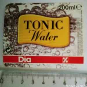 ETIQUETA TÓNICA TONIC WATER DIA