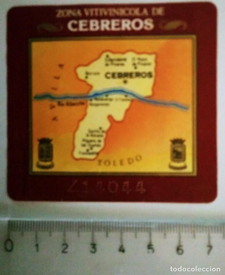 ETIQUETA VINO CEBREROS (Coleccionismo - Etiquetas)