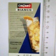 Etiquetas antiguas: ETIQUETA CINZANO BIANCO. Lote 119903871
