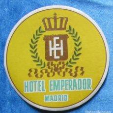 Etiquetas antiguas: ETIQUETA DE HOTEL. HOTEL EMPERADOR, MADRID.. Lote 126454822
