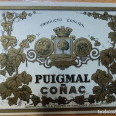 Etiquetas antiguas: ETIQUETA. COÑAC PUIGMAL. BARCELONA.. Lote 236465040