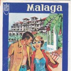 Etichette antiche: ANTIGUA ETIQUETA DEL HOTEL MIRAMAR DE MALAGA. Lote 138794170