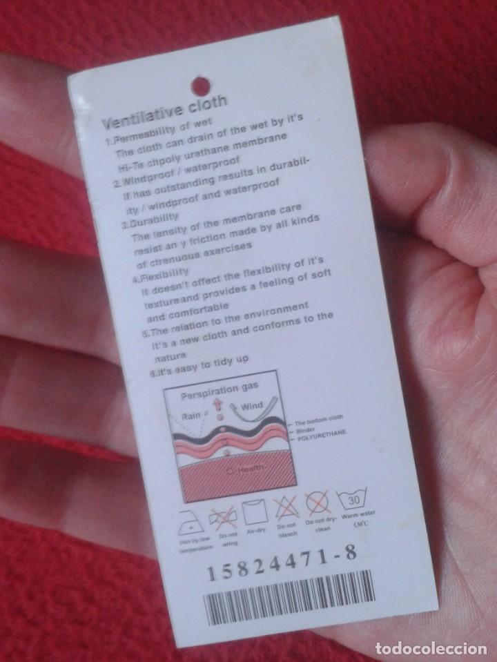 Etiquetas antiguas: ANTIGUA ETIQUETA DE ROPA CLOTH CLOTHING LABEL JIAMBO IMAGEN DE MONOPATÍN SKATEBOARD SKATE SKATER VER - Foto 2 - 142696406