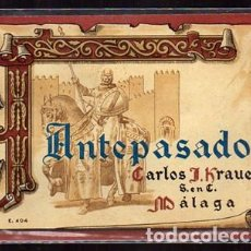 Etiquetas antiguas: ETIQUETA DE VINO ANTEPASADO (MALAGA) - CARLOS J.KRAUEL S. EN C. - ET-1691,10. Lote 143752046