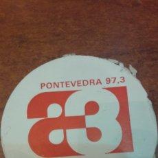 Etiquetas antiguas: PEHATINA ANTENA 3 PONTEVEDRA 97.3. Lote 143866077