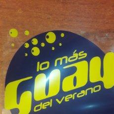 Etiquetas antiguas: LO MAS GUAY DEL VERANO. Lote 143867781