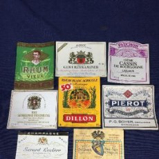 Etiquetas antiguas: 24 ETIQUETAS LICORES VARIOS AÑOS 70 80 . Lote 150665698