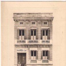Etiquetas antiguas: TARJETA POSTAL . CASA HASSINGER S.A , BARCELONA. Lote 152473382