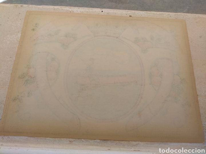 Etiquetas antiguas: Etiqueta de Naranjas Pedro Mulet - Albalat de la Ribera - Valencia - firma A.Carot - - Foto 6 - 152761002