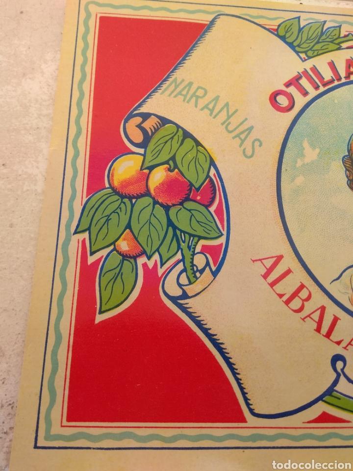 Etiquetas antiguas: Etiqueta de Naranjas Otilia Mulet - Albalat de la Ribera - Valencia - - Foto 4 - 152761656