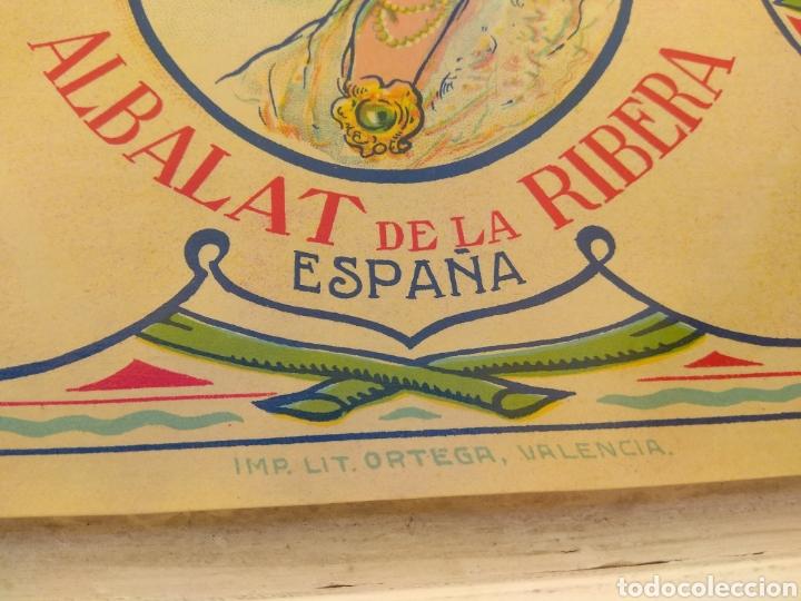 Etiquetas antiguas: Etiqueta de Naranjas Otilia Mulet - Albalat de la Ribera - Valencia - - Foto 5 - 152761656