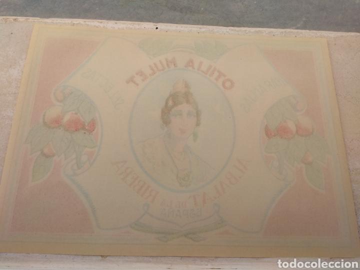 Etiquetas antiguas: Etiqueta de Naranjas Otilia Mulet - Albalat de la Ribera - Valencia - - Foto 6 - 152761656