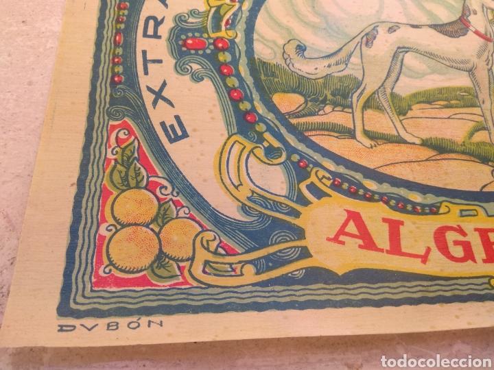 Etiquetas antiguas: Etiqueta de Naranjas Carmen Hurtado Trull - Algemesí - Valencia - firma Duvón - - Foto 5 - 152762577