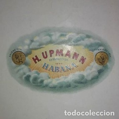 Etiqueta caja de puros H. UPMAN 1844 HABANA - 114534851