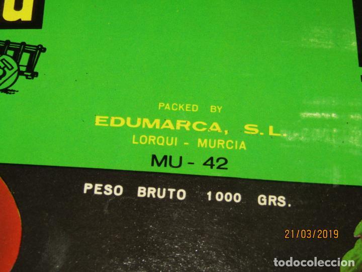 Etiquetas antiguas: Antigua Etiqueta de Bote de Tomate LA CARRETA de EDUMARCA en Lorquí Murcia - Año 1969 - Foto 3 - 156402930