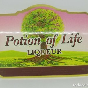 Potion of Life. Liqueur. Andorra. 10,5x8,4cm Impecable, Nunca pegada