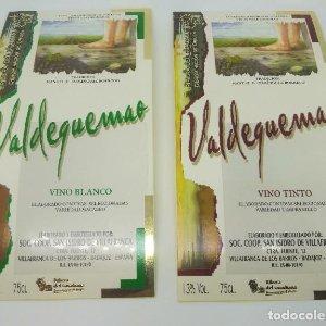 I certamen regional pintura vinos Valdequemao 2 etiquetas nunca pegadas Badajoz