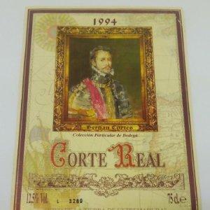 Corte Real 1994 Hernan Cortes. Cabernet Sauvignon y Tempranillo. Almendralejo. Badajoz. Extremadura
