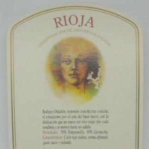 Artesa. Bodegas Ontañon. Quel. La Rioja. 13x9cm Impecable. Nunca pegada