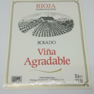 Viña agradable. Bodegas Juan Jose Entrena. La Rioja. Impecable