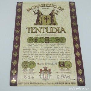 Monasterio de Tentudia. Cosecha 1992 Viña Extremeña. Almendralejo. Badajoz.
