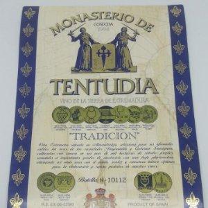 Monasterio de Tentudia. Cosecha 1994 Viña Extremeña. Almendralejo. Badajoz.