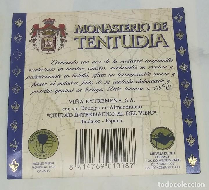 Monasterio de Tentudia. Cosecha 1994 Viña Extremeña. Almendralejo. Badajoz. - 161930330
