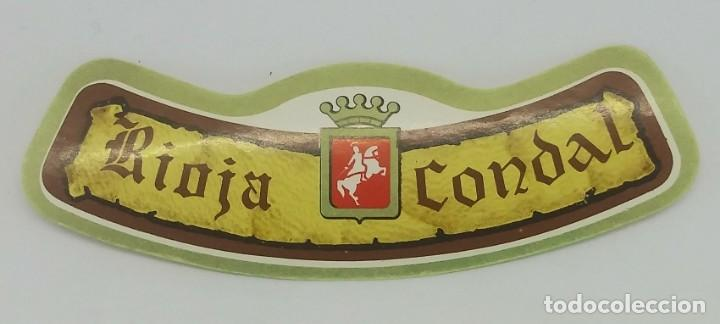 Rioja Condal 1980 Tinto fino. Bodegas Rioja Santiago. Haro. Rioja alta. 2 etiquetas - 162066806
