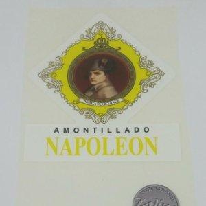 Amontillado Napoleon 2006 Bodegas Hidalgo. Sanlucar de Barrameda. Jerez, Xeres Etiquetas impecables