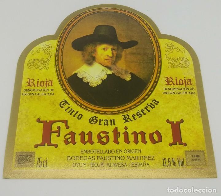 Faustino I. Tinto Gran Reserva. Bodegas Faustino Martinez. Oyon. Rioja Alavesa. Muy buen estado