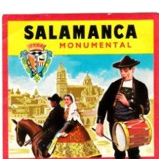 Etiquetas antiguas: ETIQUETA HOTEL GRAN HOTEL MONUMENTAL SALAMANCA. Lote 162508150